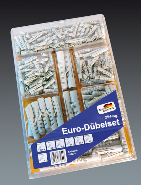 Euro-Duebel-Set 294-tlg